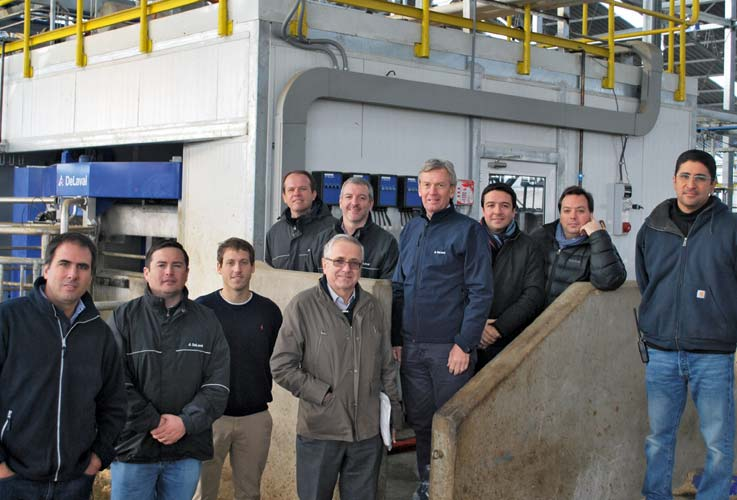 DeLaval VMS installation in Chile