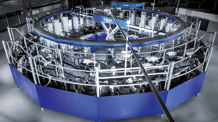 DeLaval AMR automatic milking rotary