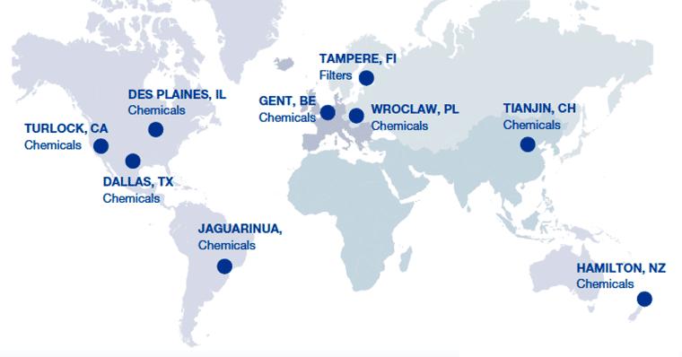 R&D centres across the globe