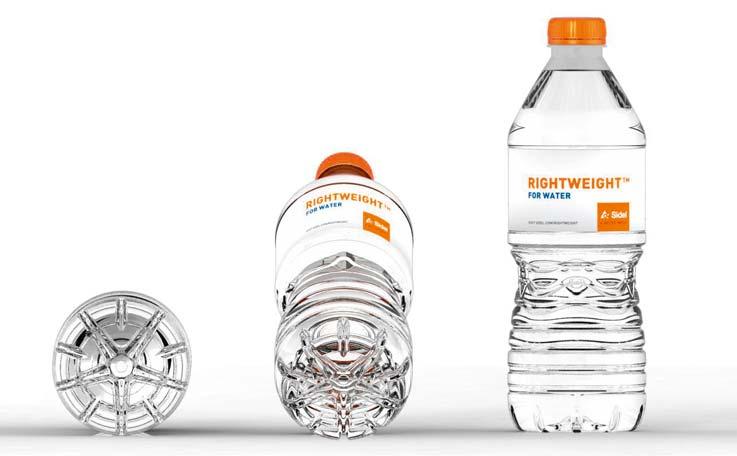 Light weight pet water bottle