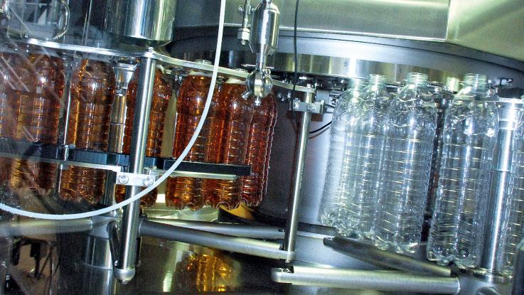 Fonti Di Posina aseptic PET bottles