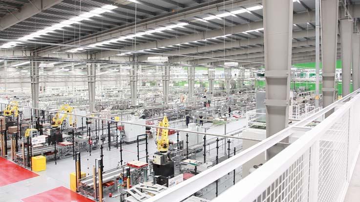 DAFSA plant, Spain